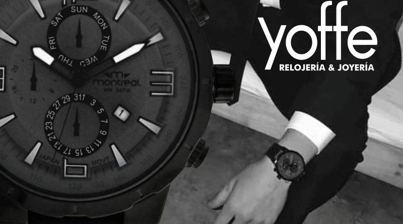 Un exclusivo reloj Montreal puede ser tuyo