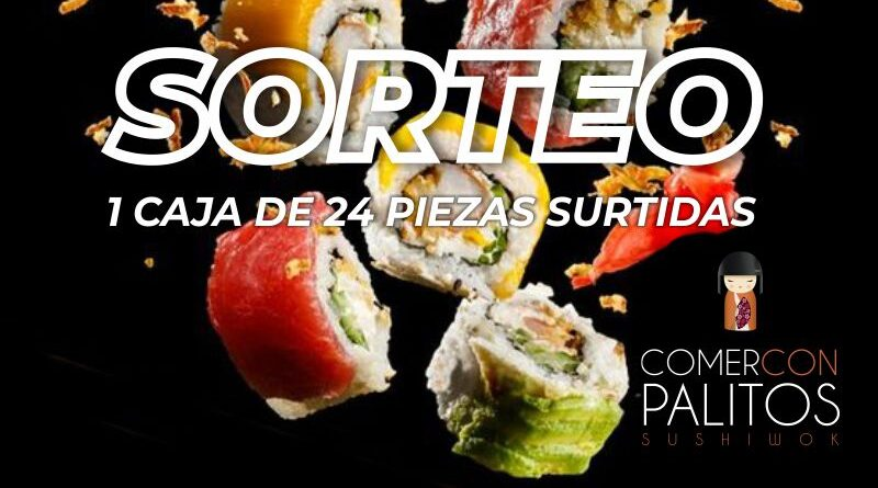 Sushi de Comer con Palitos, ¿te gusta?